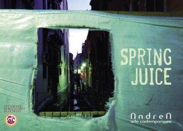 Springjuice - Andrea Arte ContemporaneA