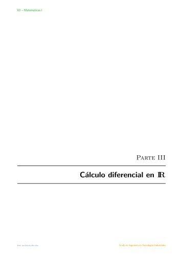 Parte III - Departamento de Matemática Aplicada