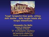 Terapia insulinicaDeBellis.pdf - Azienda USL 3 Pistoia