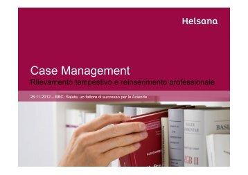 Presentazione Helsana Case Management per camera di ... - Cc-Ti