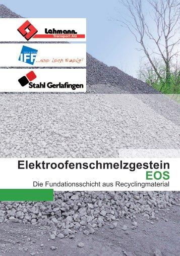 Was ist EOS - Stahl Gerlafingen