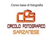 Presentazione - Circolo Fotografico Sarzanese