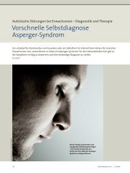 Autistische Störungen bei Erwachsenen - Autismus Karlsruhe eV