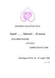 1999 - Silenzio! ... Si suona! - Universal Education