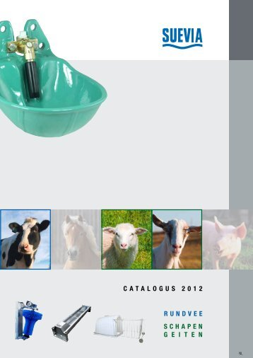 catalogus 2012 Rundvee schapen g e i t e n - SUEVIA HAIGES GmbH