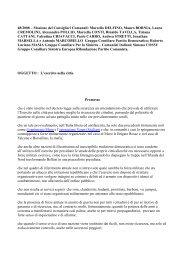 48/2008 – Mozione dei Consiglieri Comunali: Marcello DELFINO ...