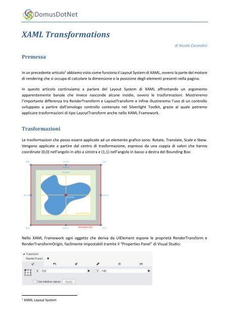 Download pdf - DomusDotNet