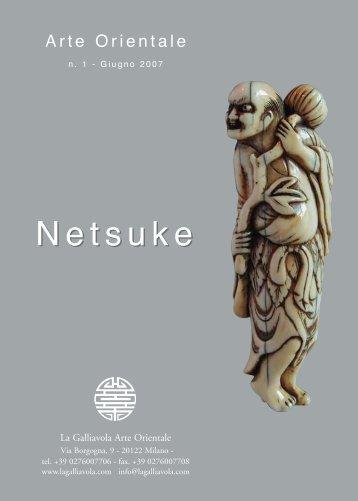Netsuke - n. 1 - Giugno 2007 - La Galliavola - Arte Orientale