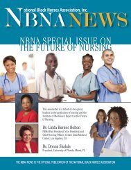 NBNA SPECIAL ISSUE ON THE FUTURE OF NURSING