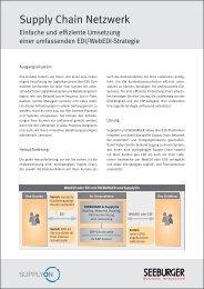 Komplettes EDI/WebEDI Outsourcing mit SupplyOn und Seeburger