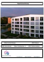 Eigentumswohnung Alfred Comte-Strasse 8953 ... - suter.in A. Suter