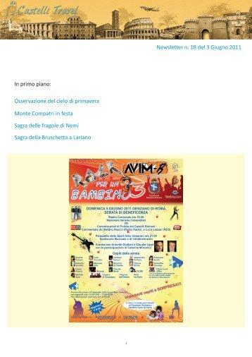 3 Giugno 2011 - Castellitravel.com
