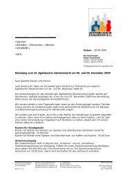 Einladung 2009 - Gewerbeverein Egelsbach e.V.