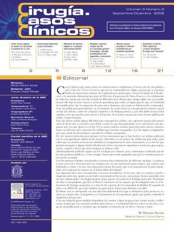 Cirugía Casos Clínicos. Volumen 3. Número 3