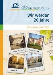 Mieterinformation 2012 - swg-z.de