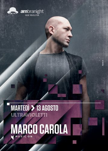 Marco Carola - Ambra Night