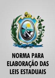 LC171/2011 - Norma para elaboração das leis estaduais
