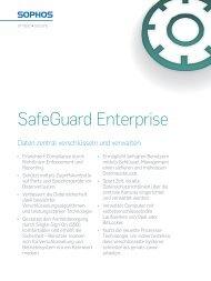 SafeGuard Enterprise - Sophos