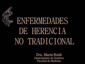 Dra. María Boidi - Facultad de Medicina