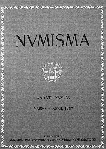 Núm. 25 - Marzo-Abril 1957 - Fábrica Nacional de Moneda y Timbre