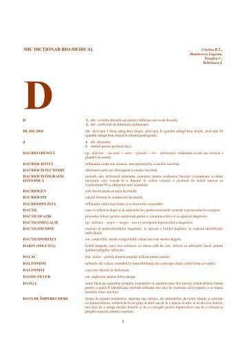 D - Veterinary Pharmacon