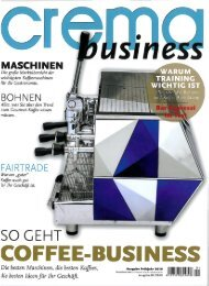 Crema business, 2010-01 Auf 1,2 Quadratmeter - Goldbach Kirchner