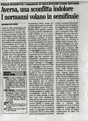 19/05/2008 Poule Scudetto - Triangolari - 3a Gara - serie d news
