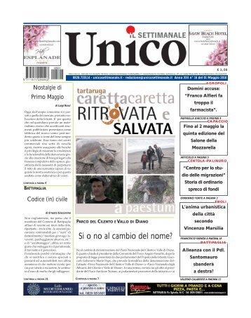 Unico 01 maggio 2010
