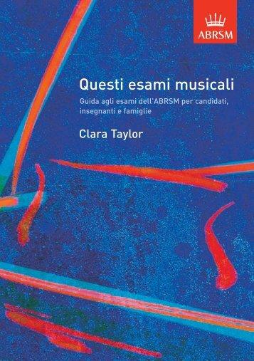 Questi esami musicali - ABRSM