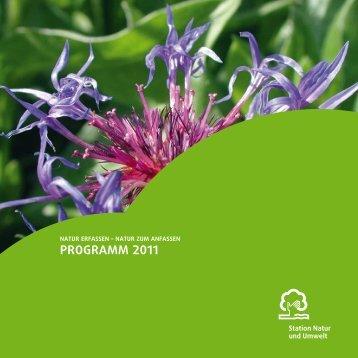 Programm 2011 - Station Natur und Umwelt