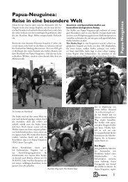 Papua-Neuguinea: Reise in eine besondere Welt P apu ... - El Puente