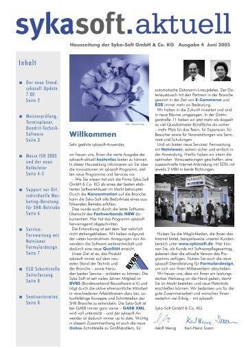 8 Seiten PDF - sykasoft