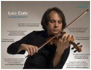 """""""un violinista dal suono glorioso"""" John Shand, The ... - Lucaciarla.com"""