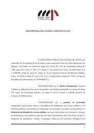 Clique aqui - Ministério Público do Estado de Goiás