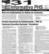 Informativo Fevereiro 2011