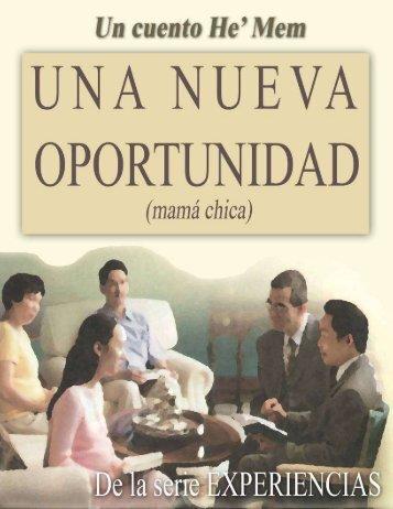 Una nueva oportunidad (mamá chica) - Escritores Teocráticos.net