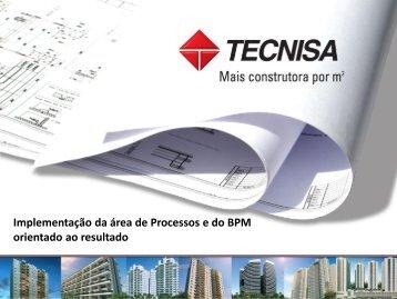 Implementação da área de Processos e do BPM ... - BPM LAB