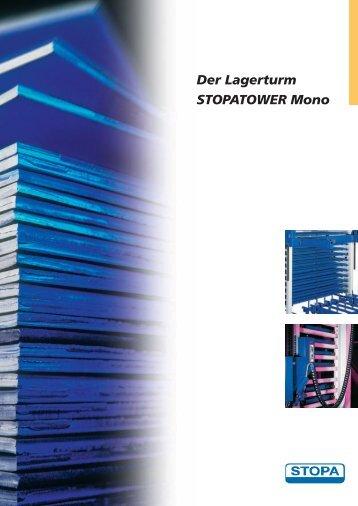 Der Lagerturm STOPATOWER Mono