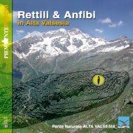 Rettili & Anfibi in Alta Valsesia - Franco Andreone