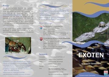 EXOTEN - Fischereiverband Unterfranken eV