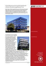 gebäude Allianz Direktions- gebäude Linz - SWAP (Sachsen) GmbH