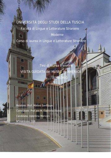 Museo de América - Unitus DSpace - Università degli Studi della ...