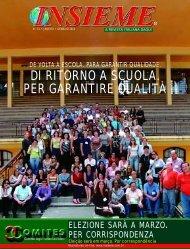 Edição 61 - INSIEME - a revista italiana daqui