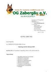 Einladung zur Jahreshauptversammlung 2. Feb. 2013 - Verein für ...