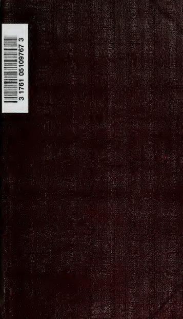 Gli scritti del conte di Cavour - University of Toronto Libraries