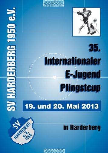Pfingstcup Heft 2013 - SV Harderberg von 1950 eV
