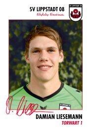 Autogrammkarten mit Unterschrift, Download als ... - SV Lippstadt 08
