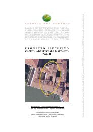 Capitolato speciale - II parte - Agenzia del Demanio