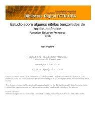 Biblioteca Digital | FCEN-UBA | Recondo, Eduardo Francisco. 1956 ...