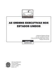 as ordens executivas nos estados unidos - Câmara dos Deputados